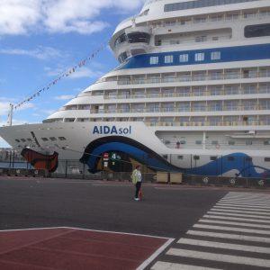Unsere 1. Kreuzfahrt mit der AIDAsol nach Madeira und auf die Kanarischen Inseln