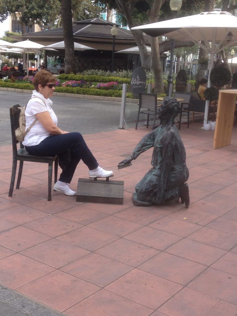 Im Parque de Santa Catalana in Las Palmas, Gran Canaria bei unserer 1. Kreuzfahrt