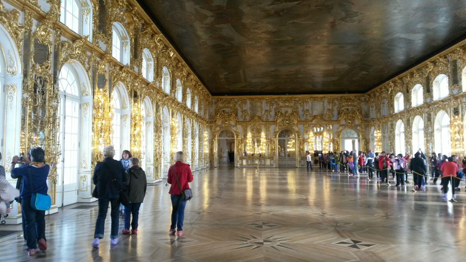 Katharinenpalast St. Petersburg Reiseblog Ü50