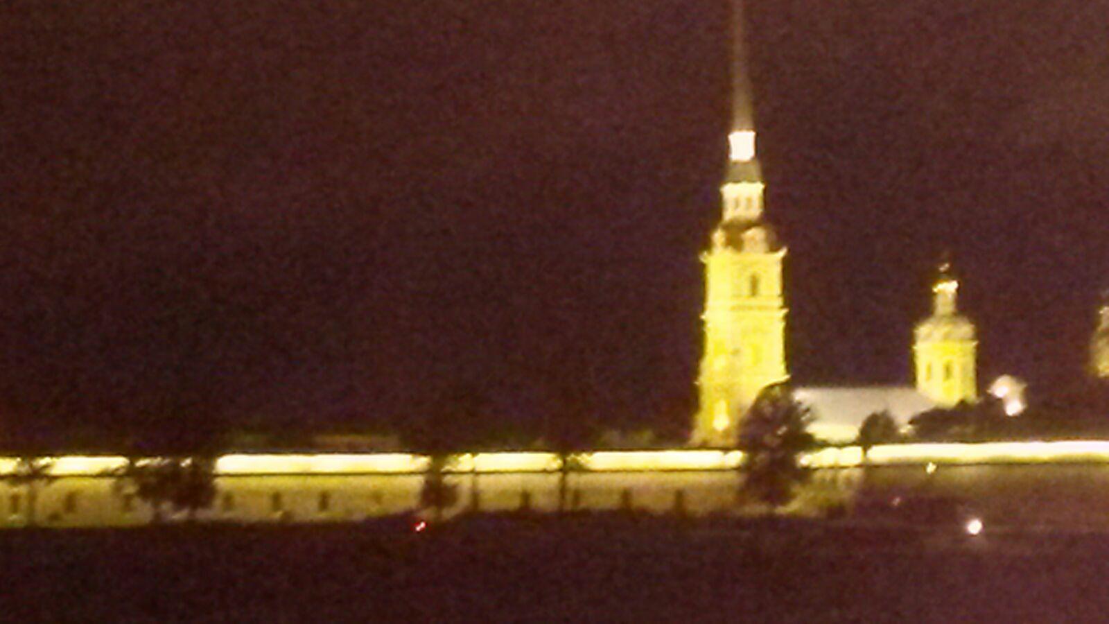 Die Admiralität bei Nacht