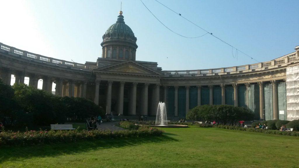 Russisch orthodoxe Kathedrale, ebenfalls eine bekannte Sehenswürdikteit in St. Petersburg