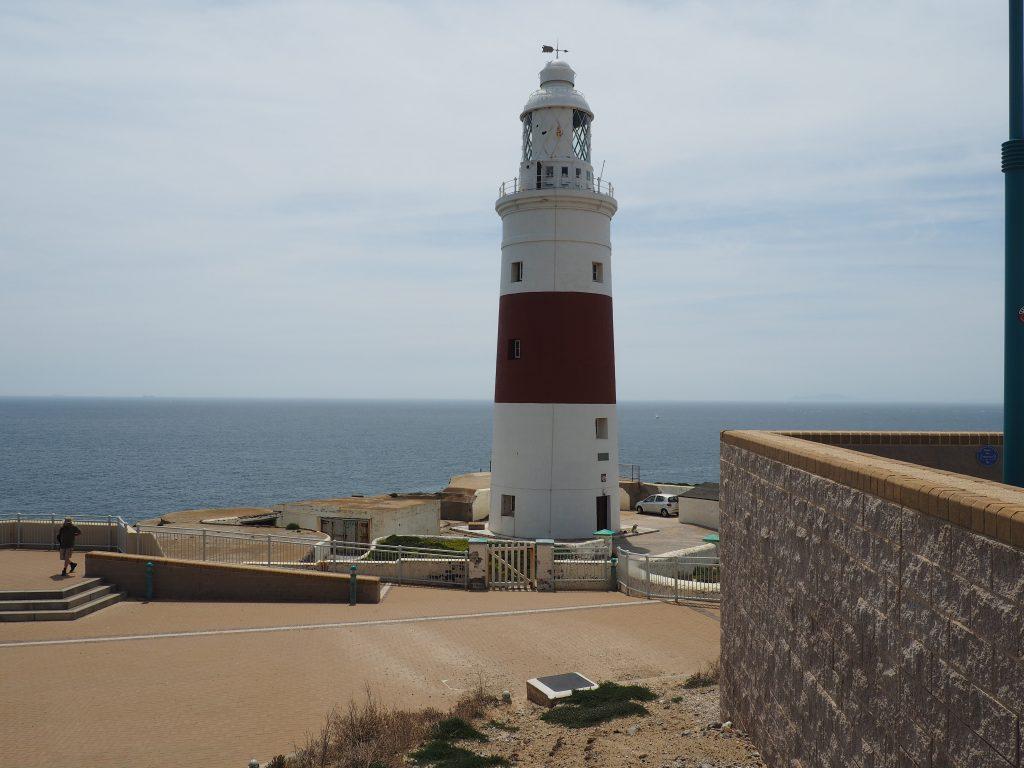 Südlichster Leuchtturm Europas auf Gibraltar am Europapunkt