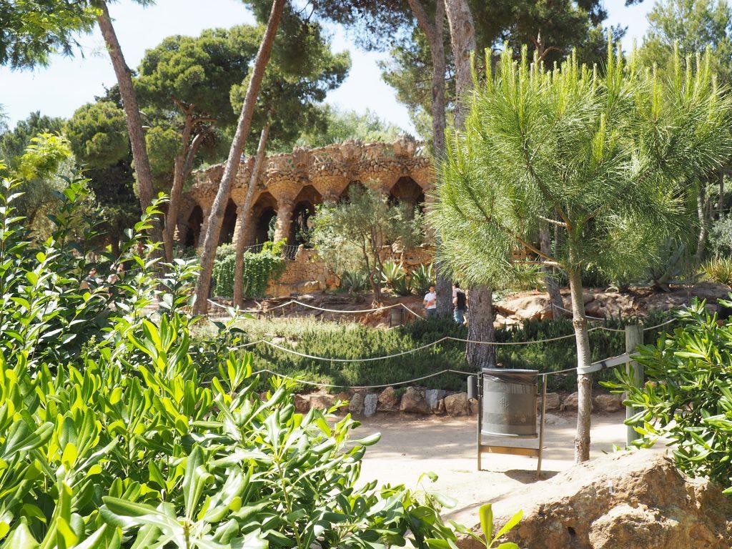 Im Parc Güell in Barcelona, Antoni Gaudis Hommage an die Natur
