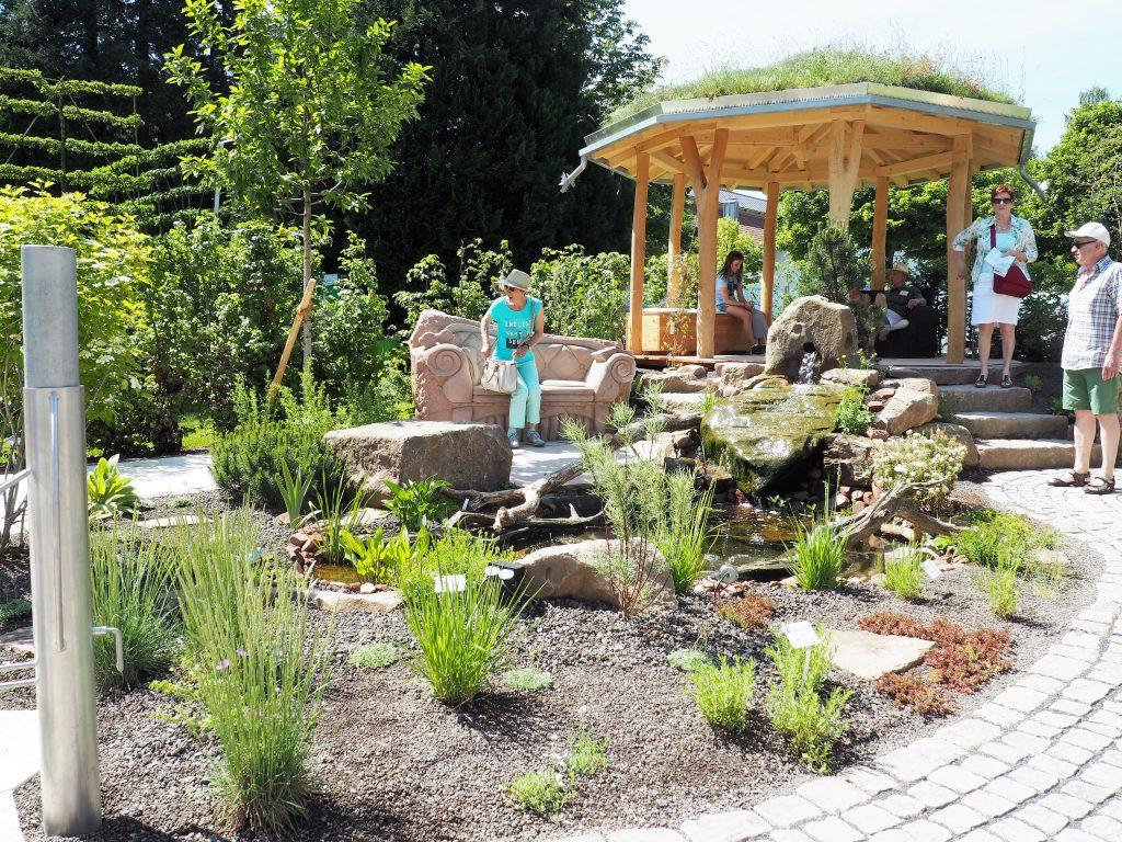 Schaugärten der Landschaftsgärtner bei der Gartenschau 2017 in Badherrenalb www.bestager-reiseblog.de