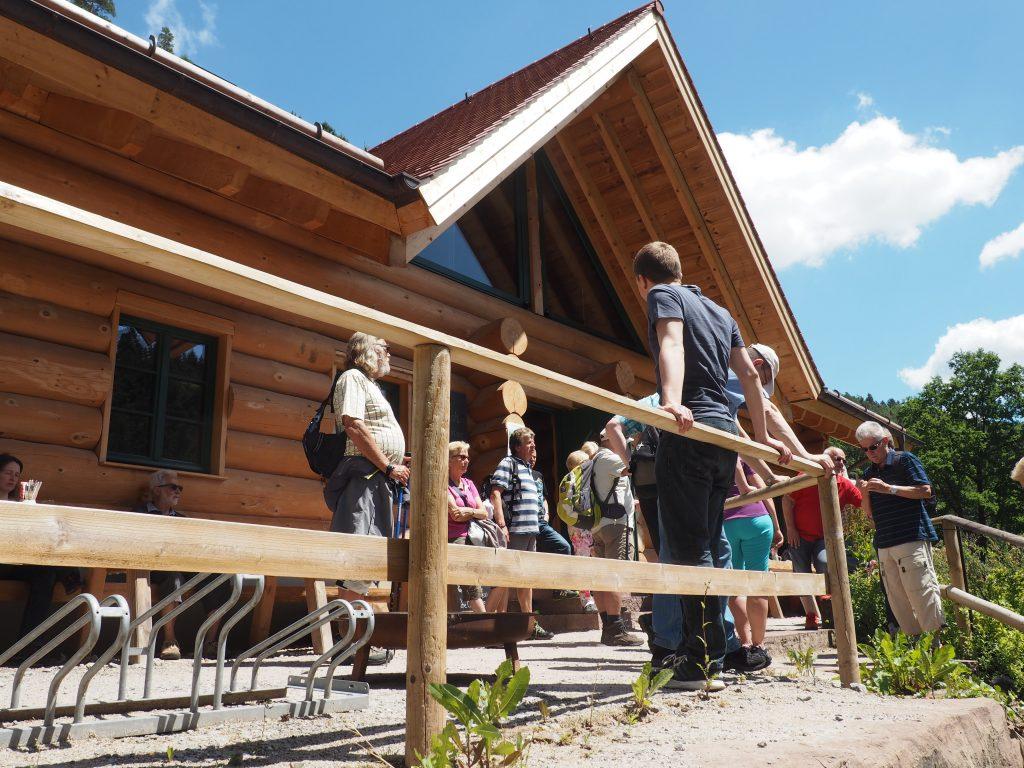 Schlossberghütte, eine urige Hütte im Teinachtal