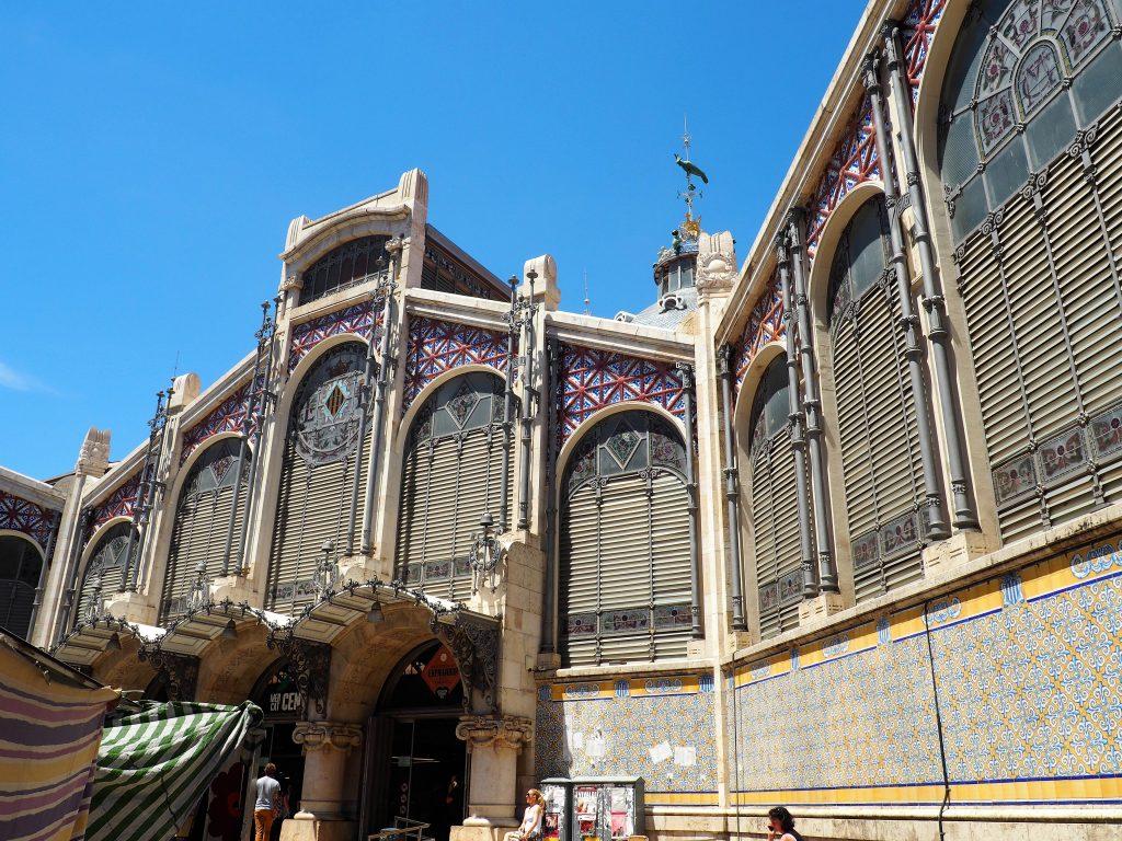 Der Mercado Central, die Markthalle von Valencia