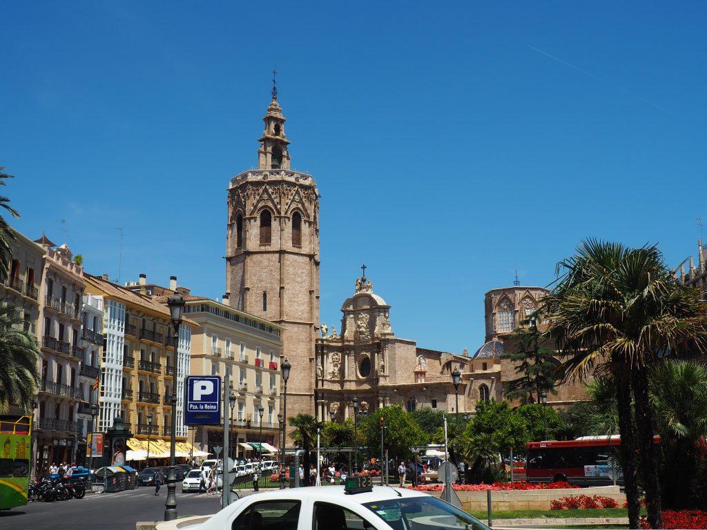 Plaza de La Reigna in Valencia