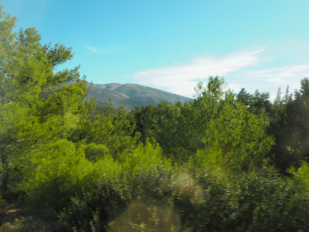 Ausflugsfahrt durch den grünen Westen von Rhodos