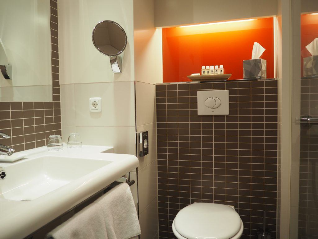 Badezimmer im BestWestern Hotel Bamberg