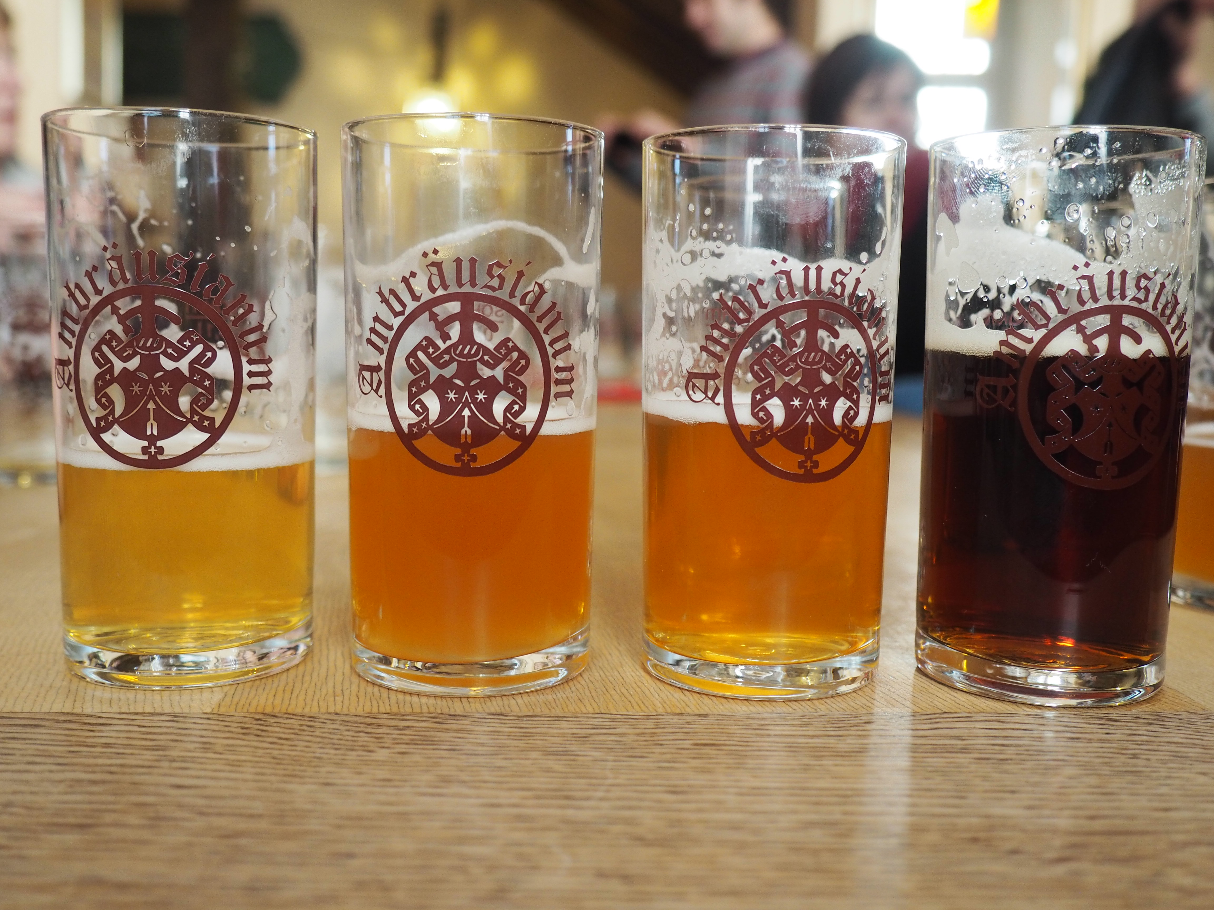 Leckere Bierprobe bei unserer sehr interessanten Bierführung in Bamberg