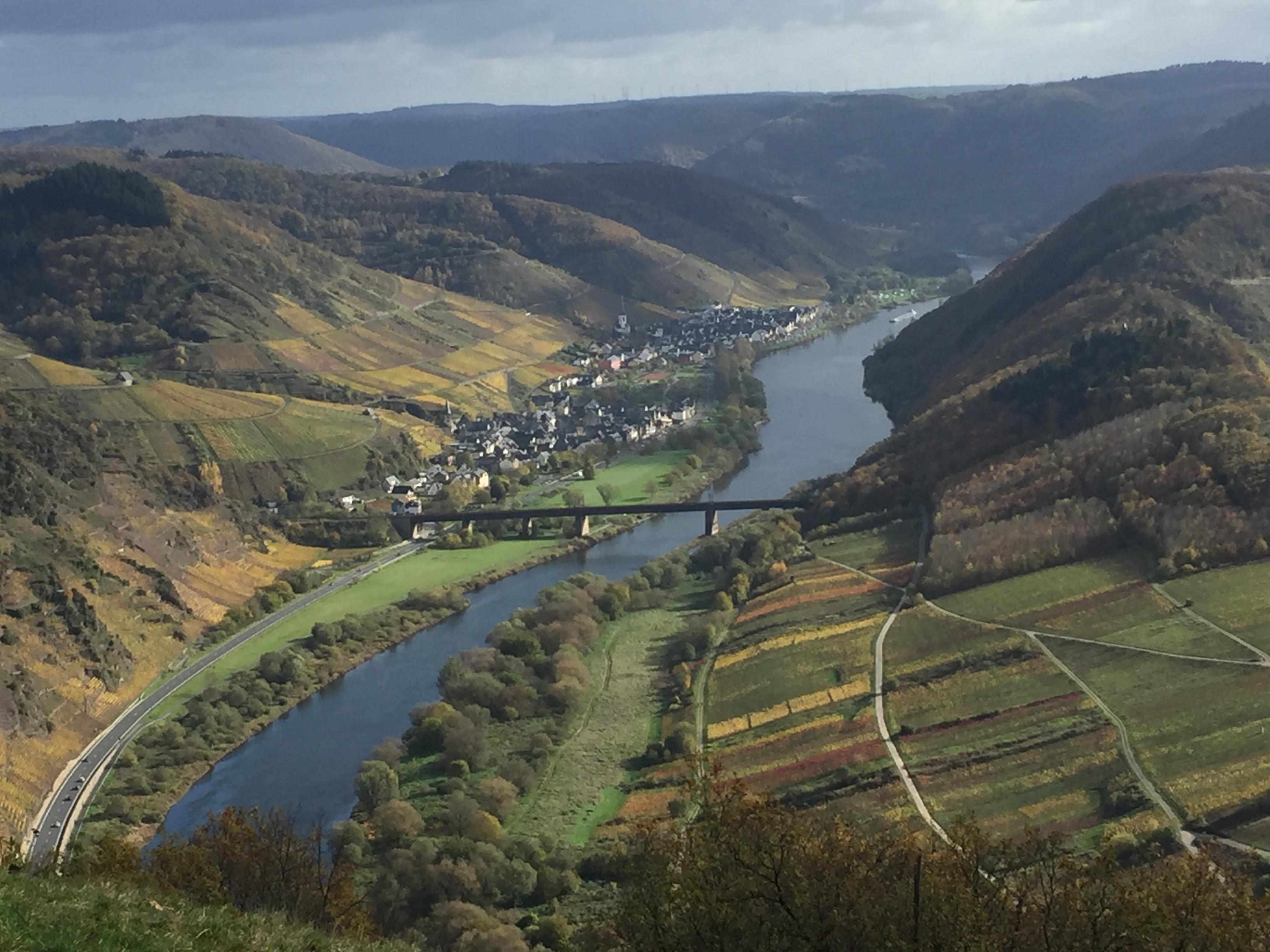 Klettersteig Mosel : Bestager reise ediger eller eisenbahnbrücke mosel calmont