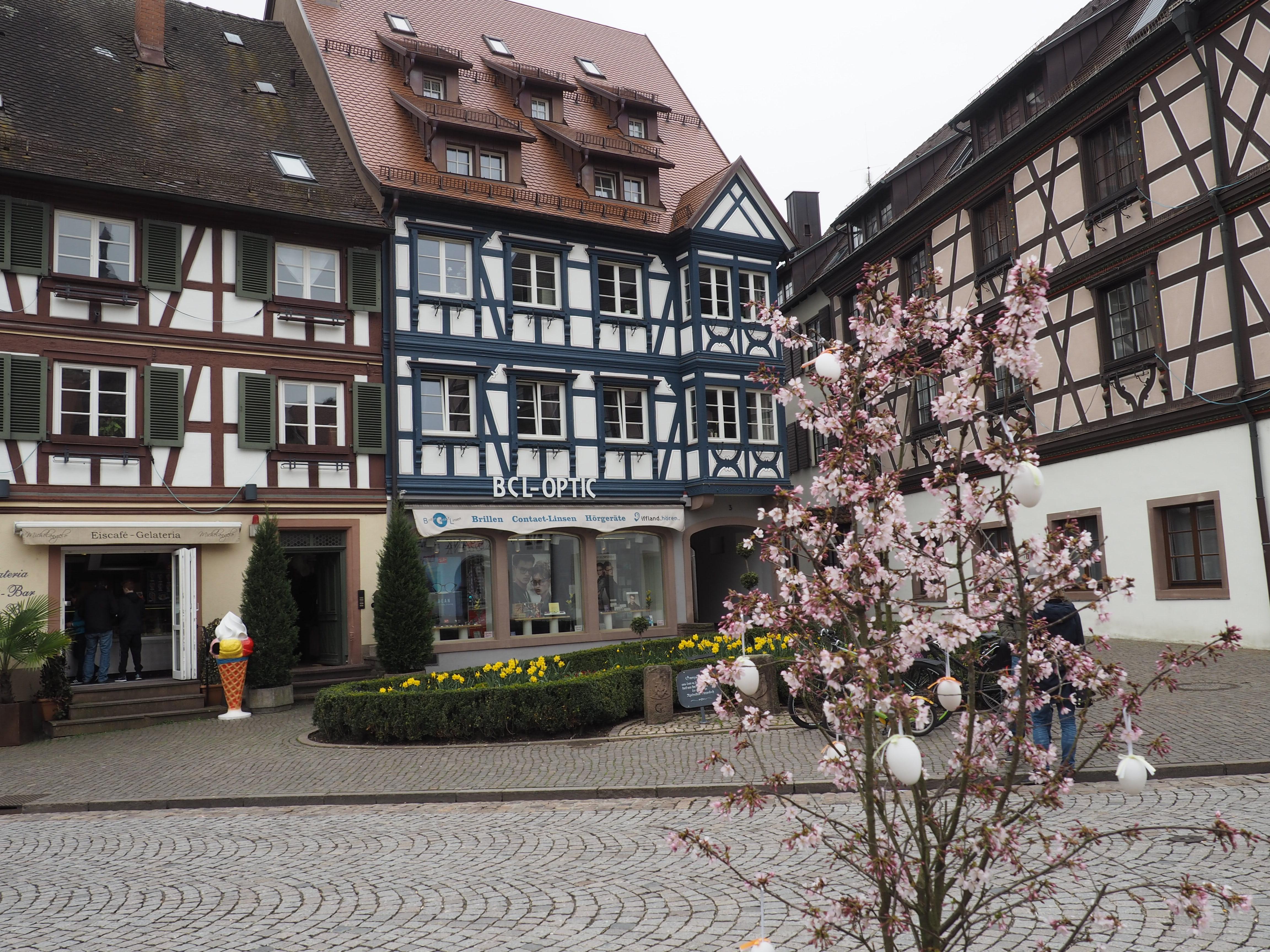 Idyllische Fachwerkhäuser in der ALtstadt von Gengenbach