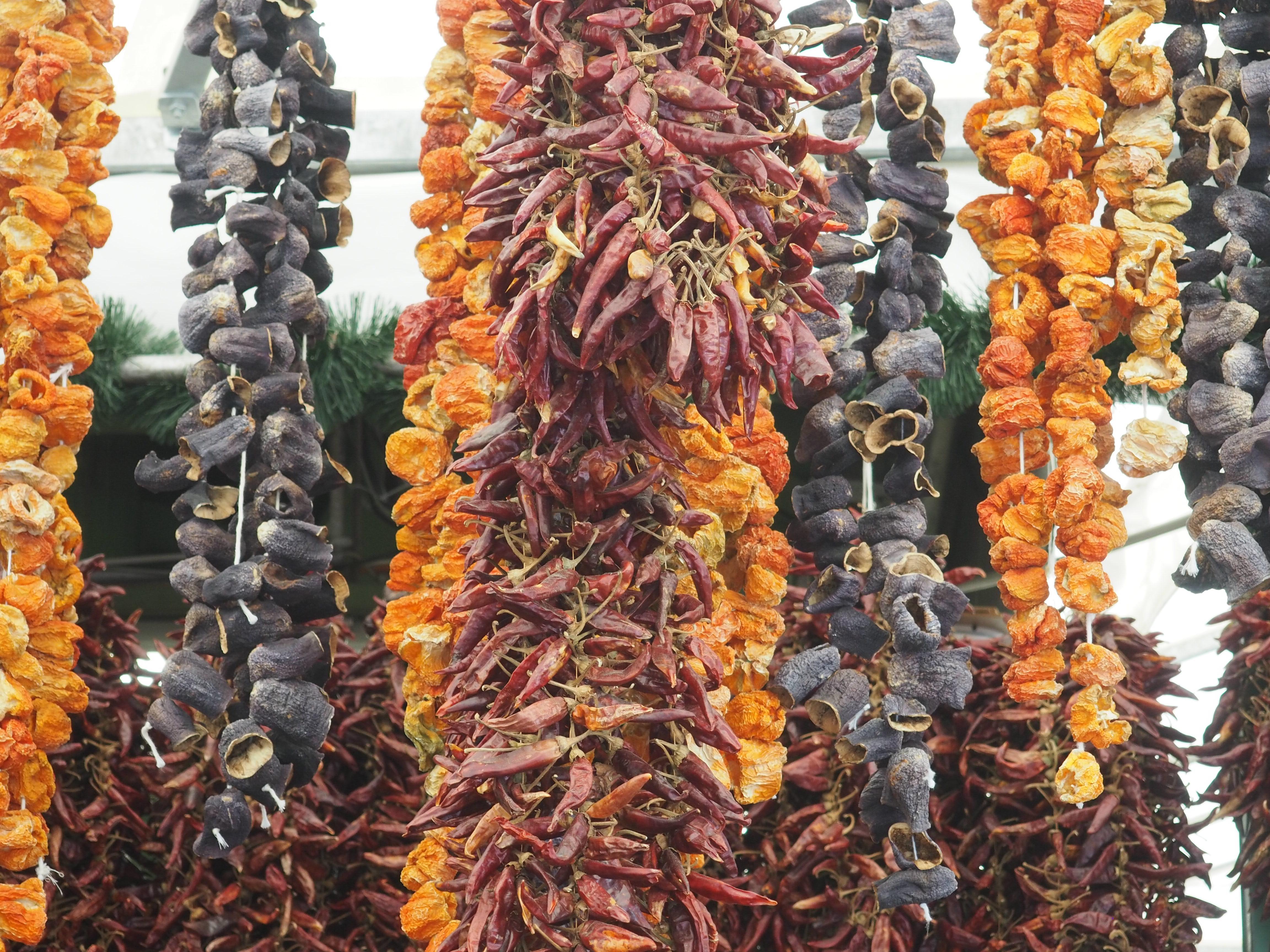 Ich liebe Lebensmittelmärkte! Hier Impressionen vom Viktualienmarkt in München.