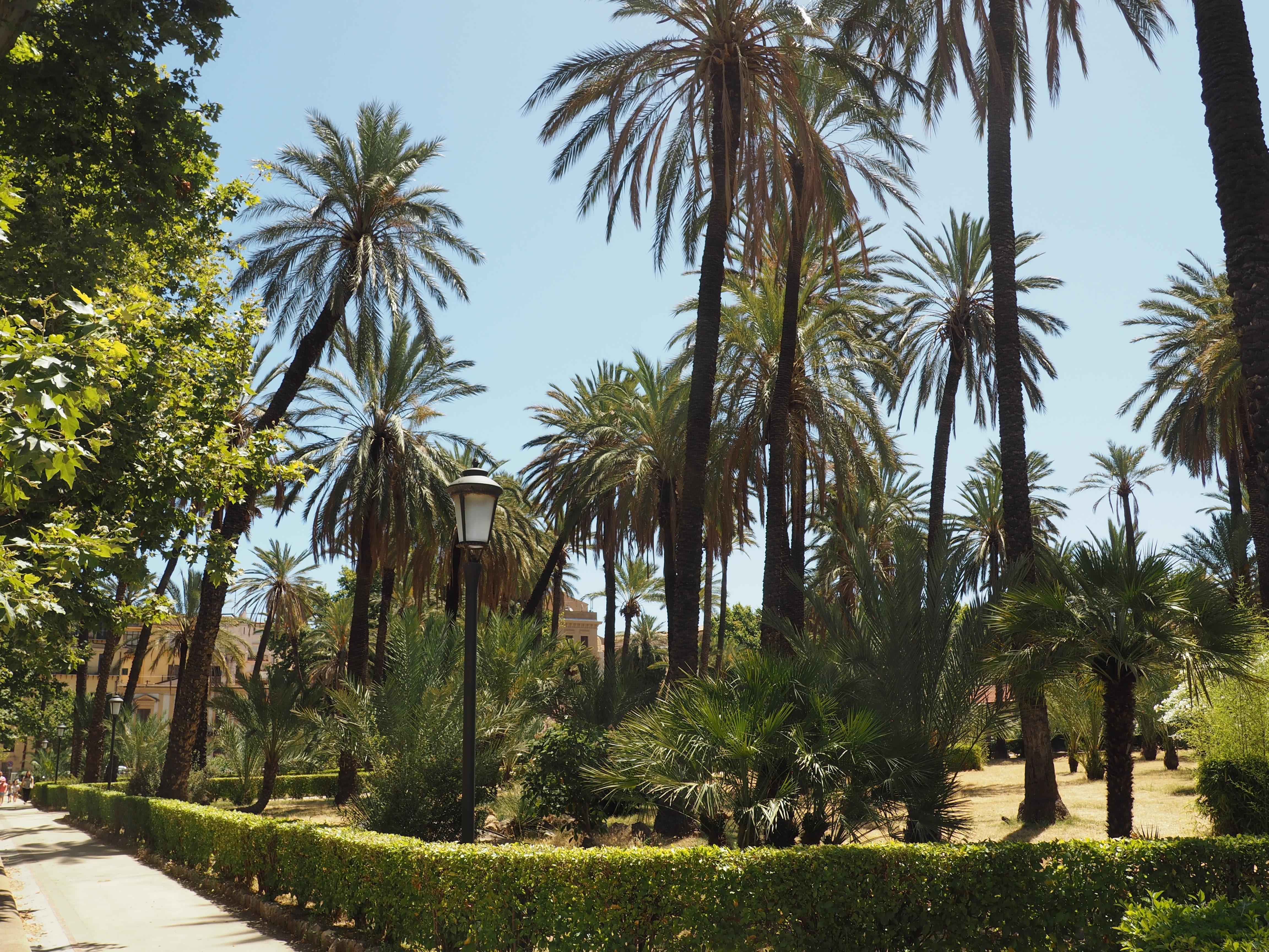 Parkanlage Villa Bonanno in Palermo