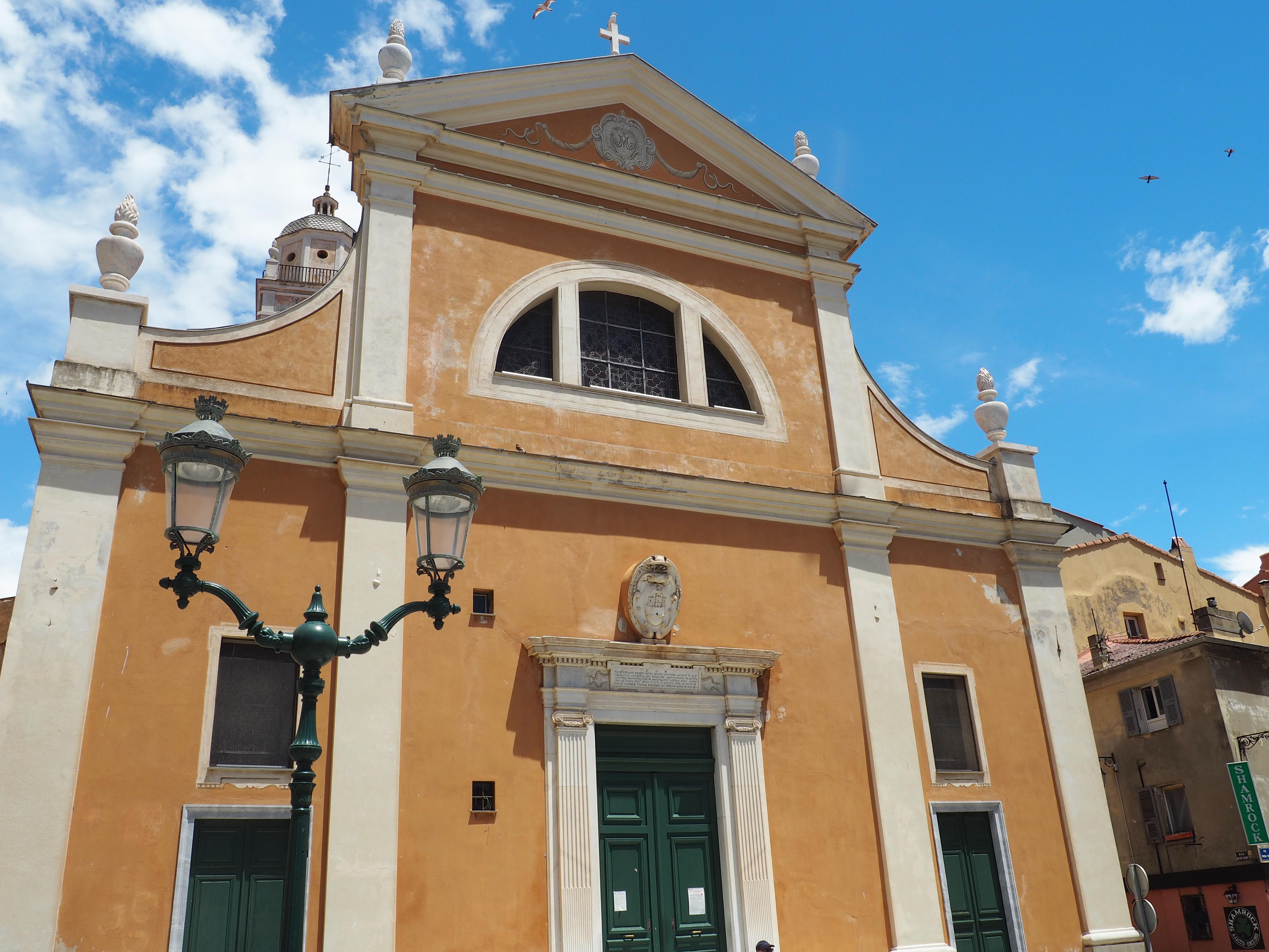 Kathedrale Notre-Dame-de-l'Assomption, eine kleine, aber wunderschöne Kathedrale in Ajaccio, der Hauptstadt von Korsika