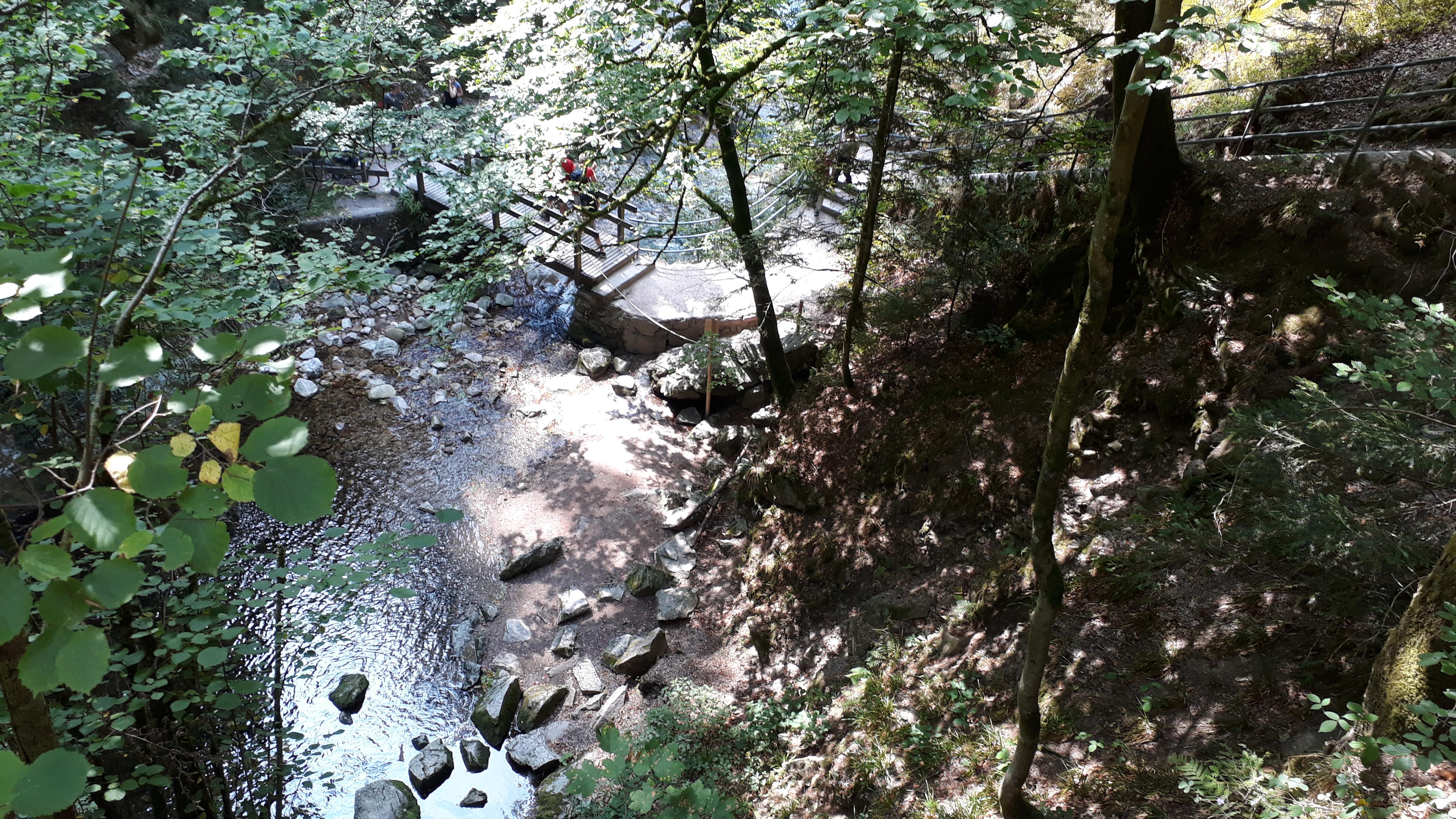 Allerheiligen Wasserfälle Sagenrundweg im Schwarzwald