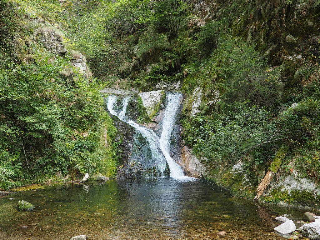 wildromantische Wasserfälle Allerheiligen