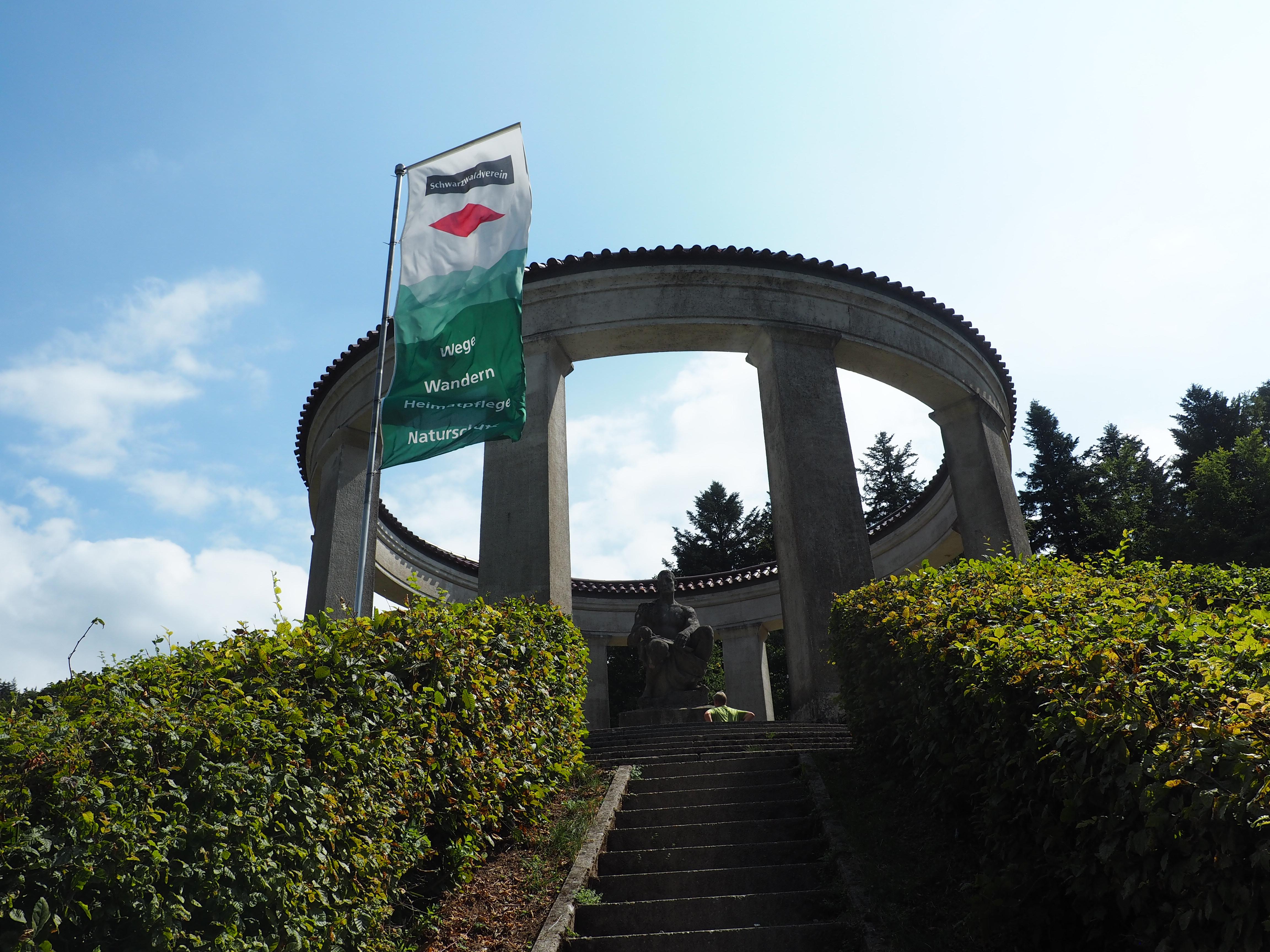 Ehrenmal Schwarzwaldverein Klosterruine Allerheiligen