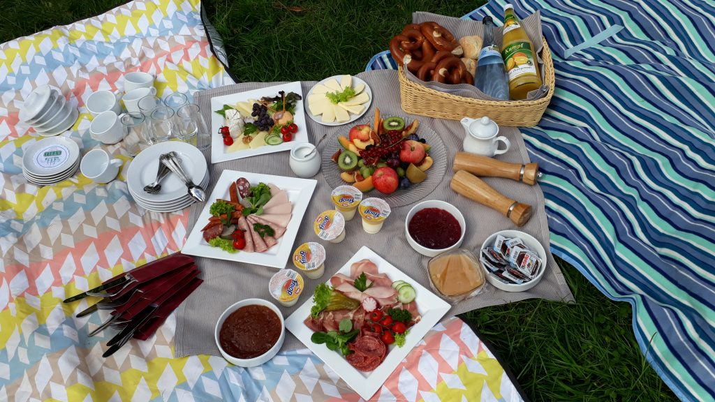 Leckeres Picknick vom Landgasthof König von Preussen in Frauenalb im Albtal