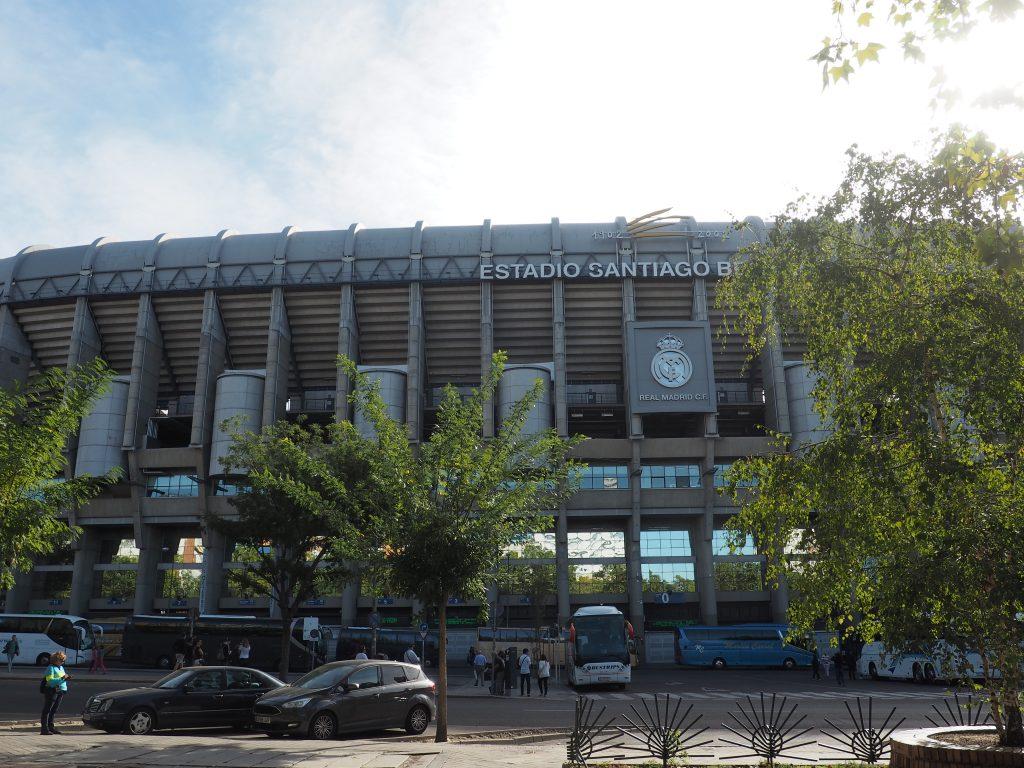 Zu den Sehenswürdigkeiten in Madrid zählt auch das Bernabeu Stadium Real Madrid