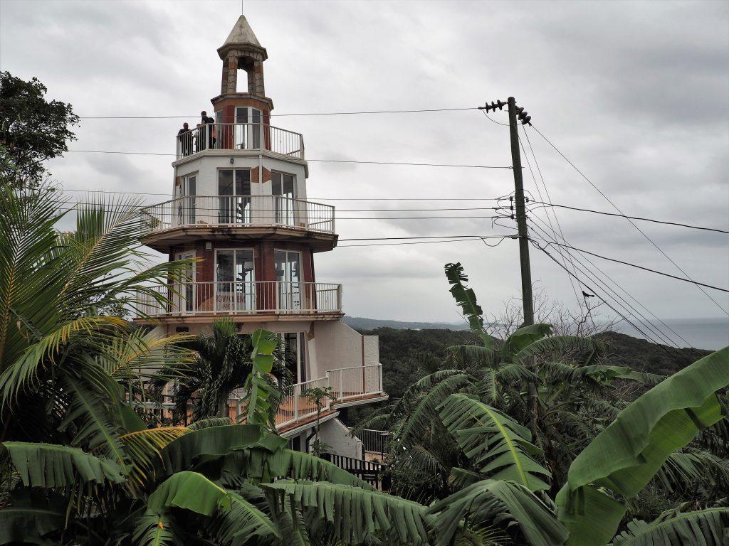 Leuchtturm, Ausflug auf eigene Faust Roatan, Karibik