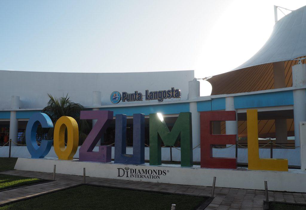 Punta Langosta Cozumel Pier für Kreuzfahrtschiffe