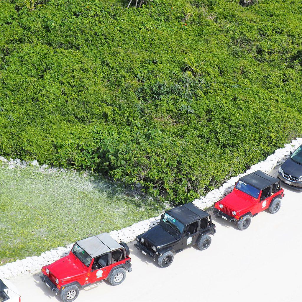 Jeep-Tour auf Cozumel auf Mexiko