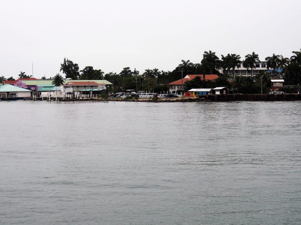 Hafeneinfahrt Belize