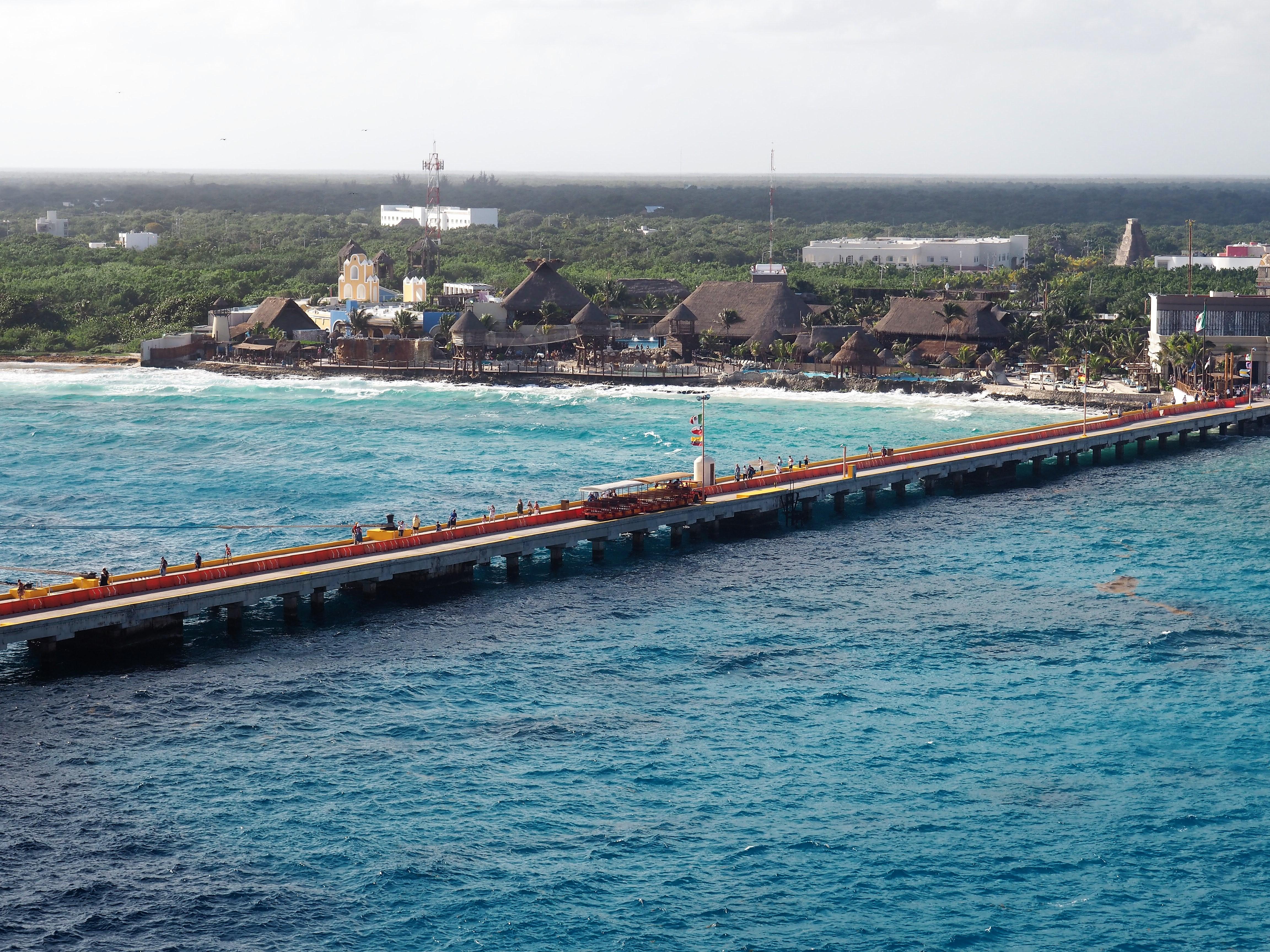 Cruise Center Costa Maya, AIDALuna, Kreuzfahrt Karibik Mexiko,