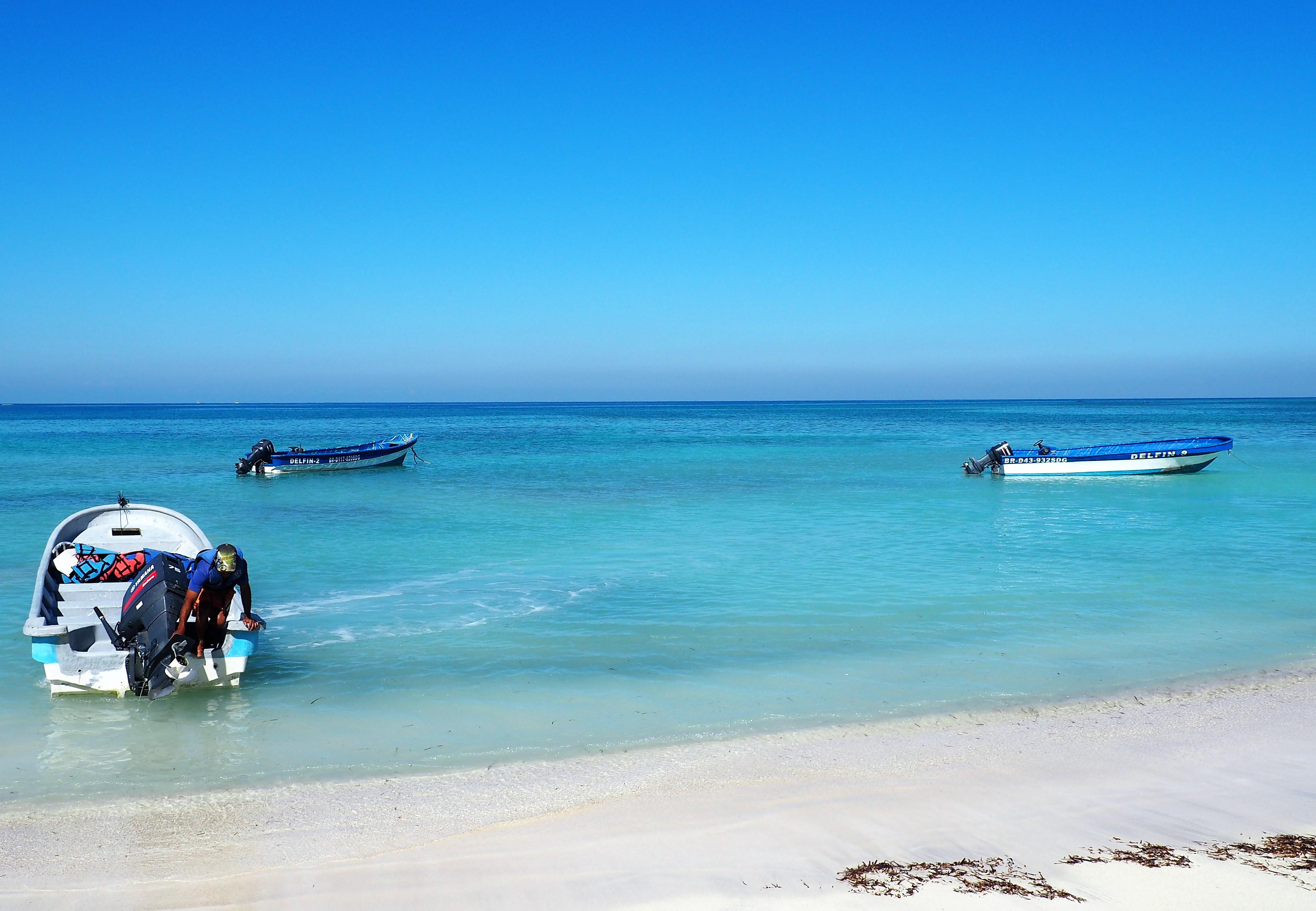 Ein traumhafter, karibischer Strand: Punta Rucia in der Dominikanischen Republik