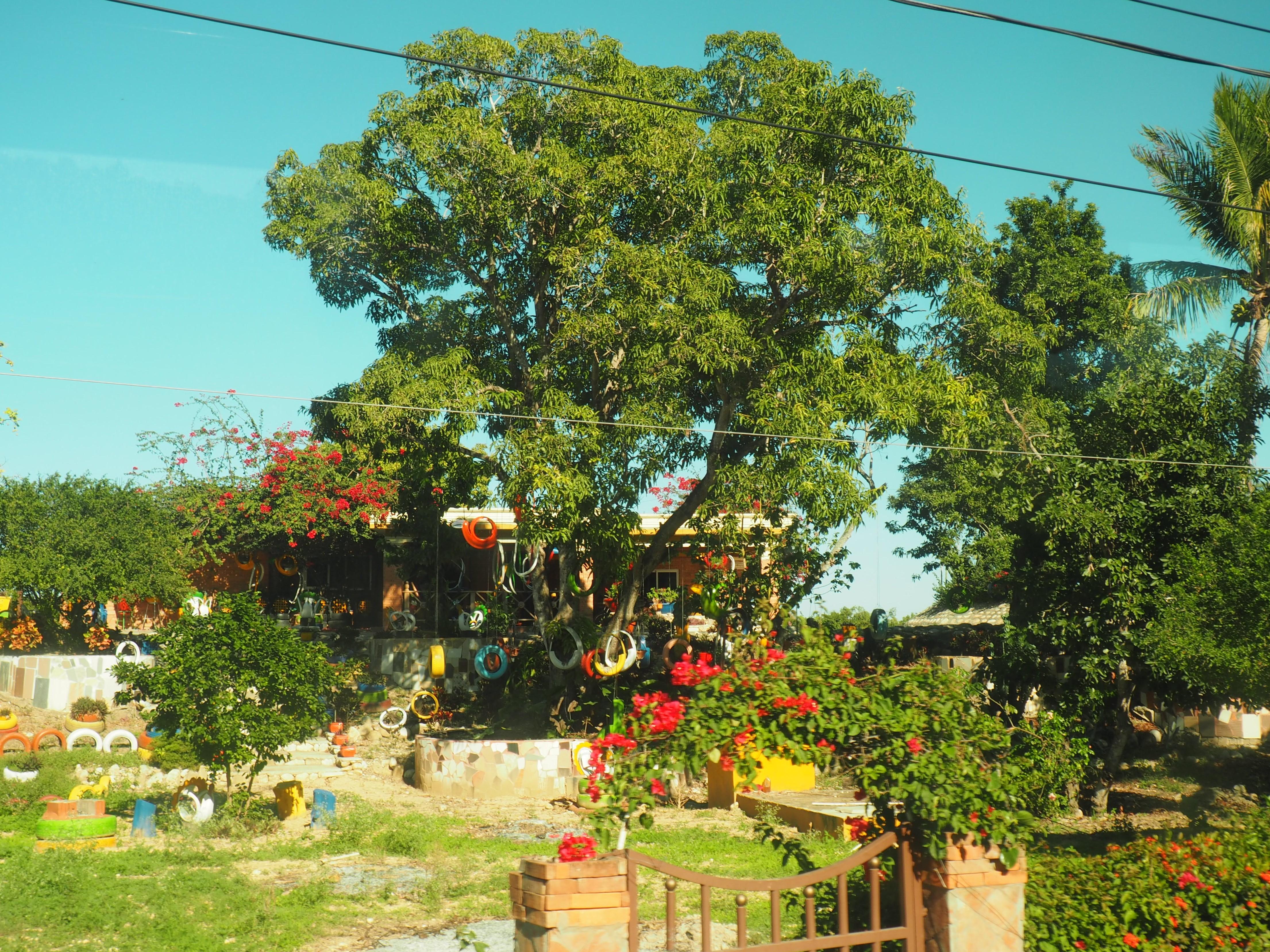 Karibisches Flair bei unserer Fahrt durch das Landesinnere der Dominikanischen Republik, entdeckt beim Ausflug auf eigene Faust