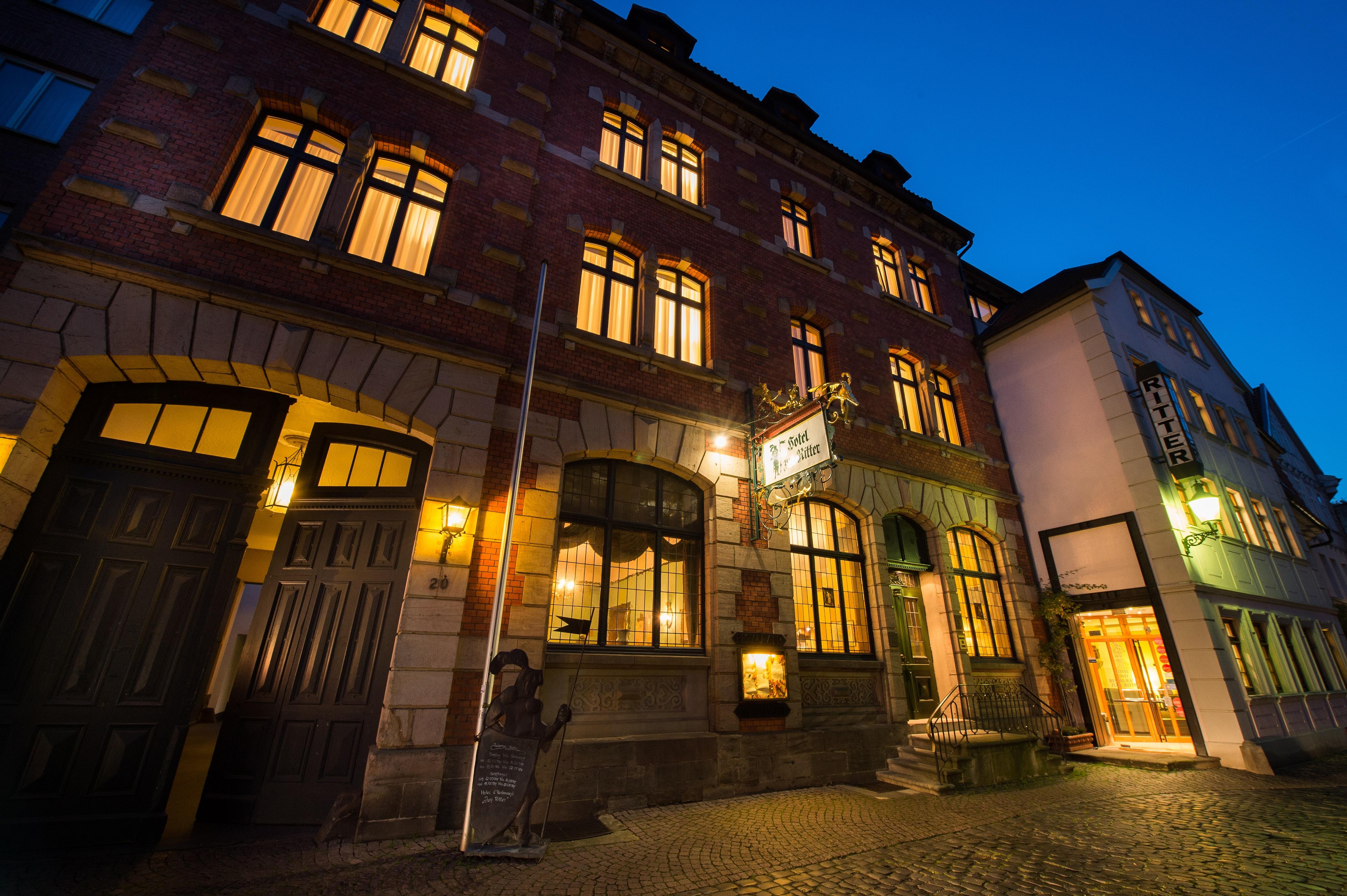 Schönes, altes Hotel in der Altstadt von Fulda Hotel Ritter
