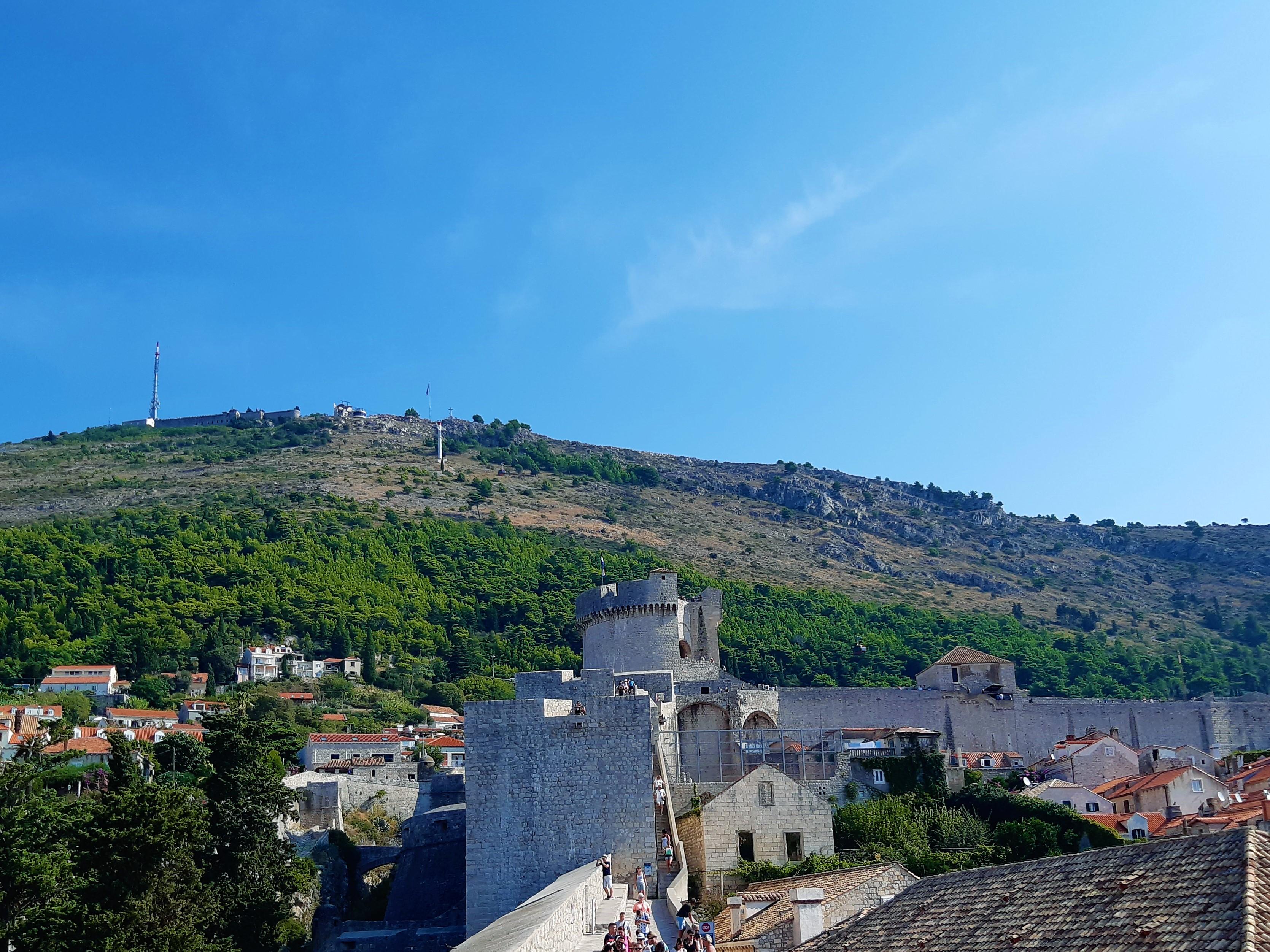 Srd, der Hausberg von Dubrovnik