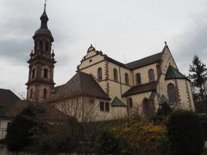 St. Marien, die imposante Kirche von Gegenbach im Schwarzwald