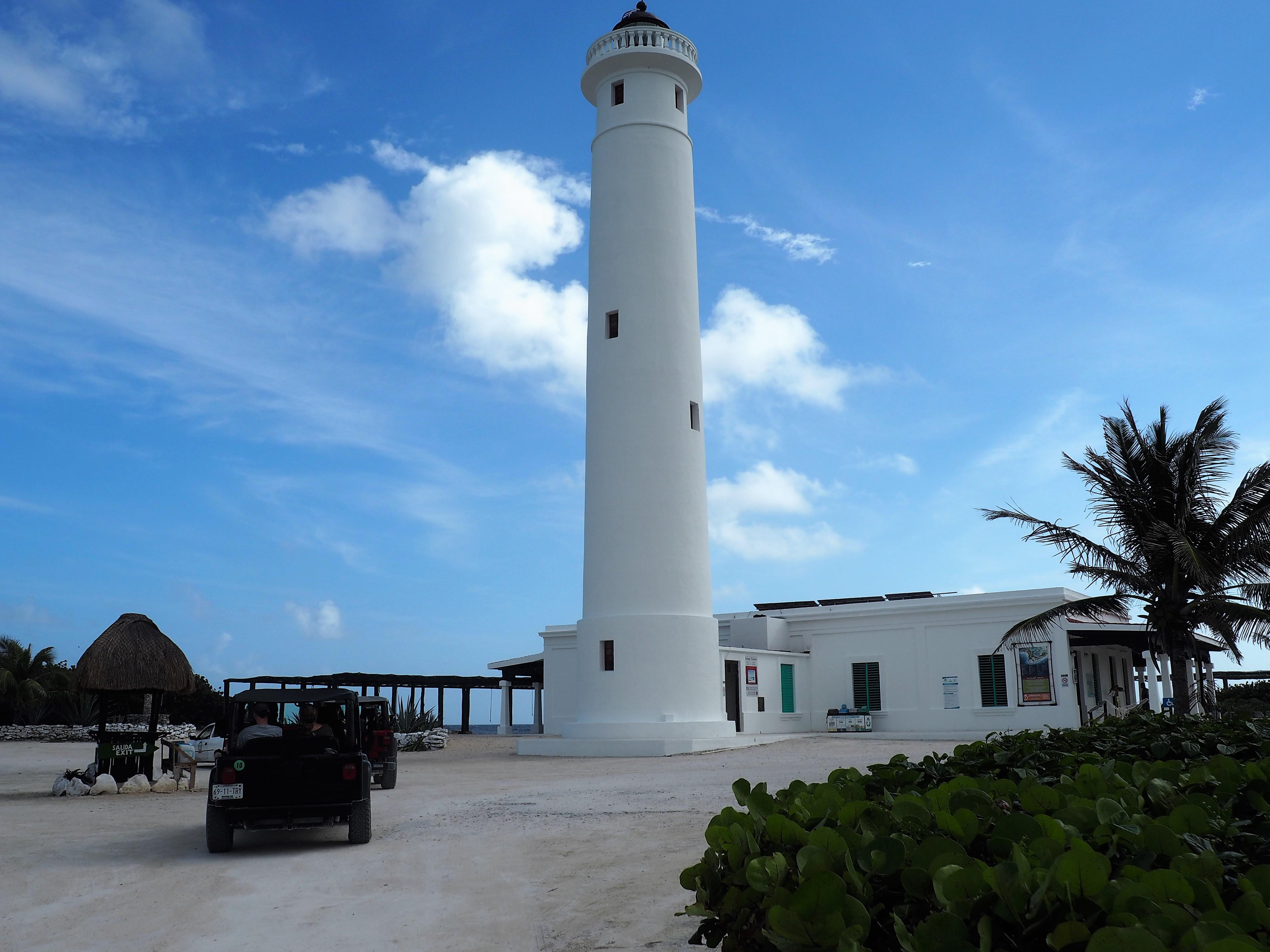 Leuchtturm im Nationalpark Punta Sur auf Cozumel