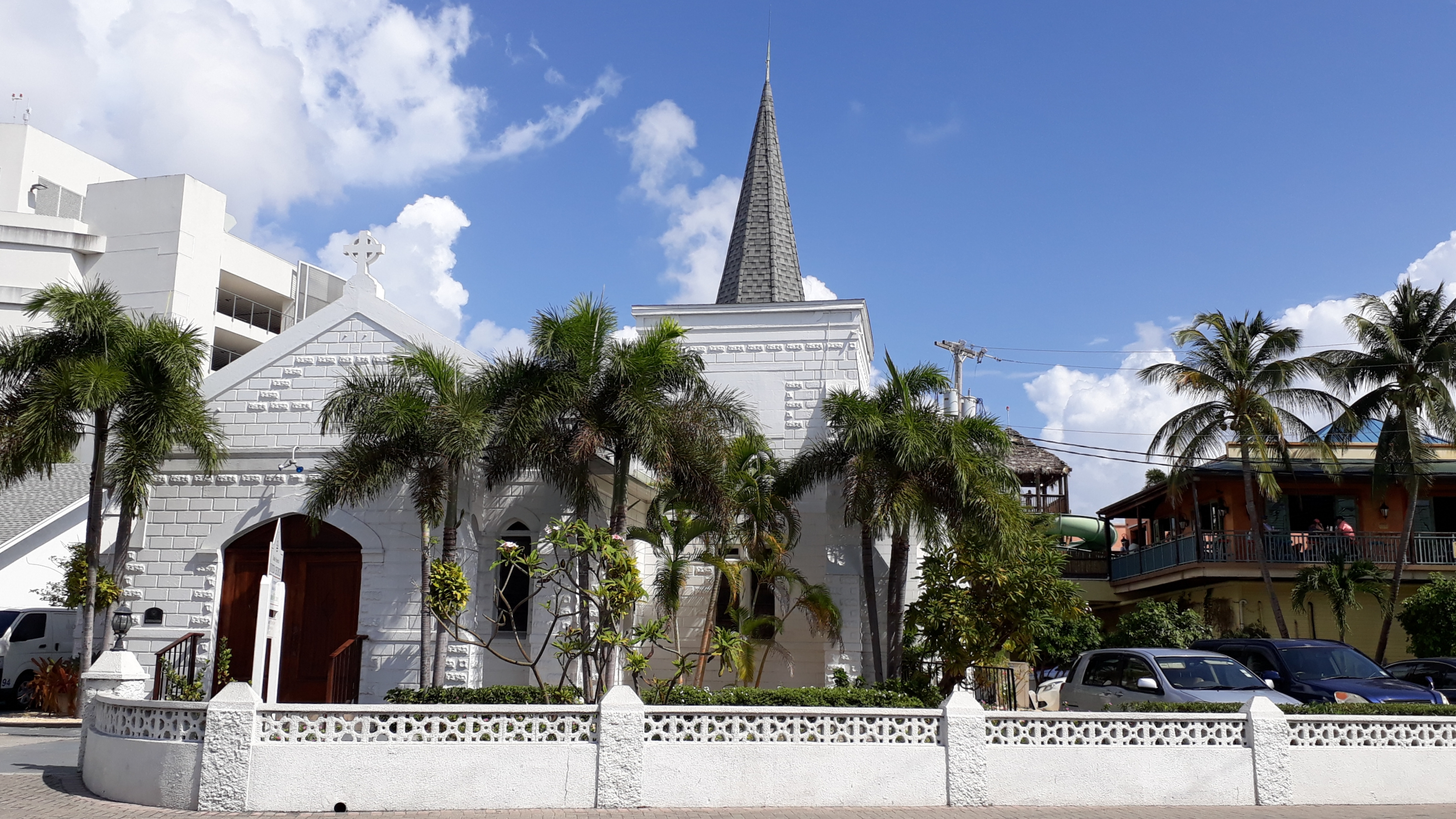 Emslie Memorial Church in George Town auf Grand Cayman