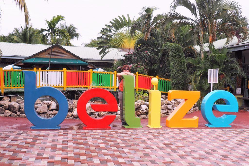 Im Dutyfree Center in Belize