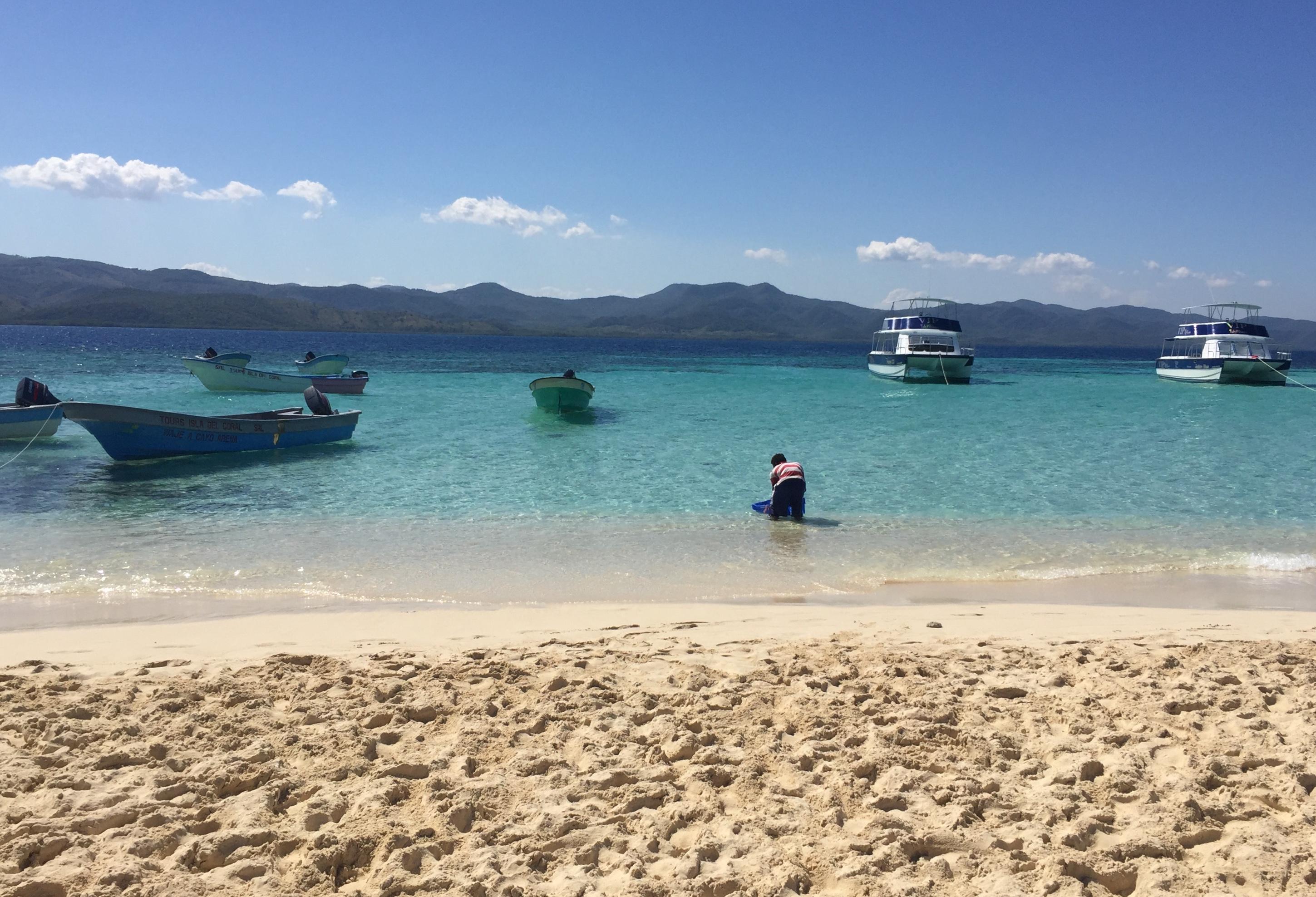 Sandstrand Paradise Island