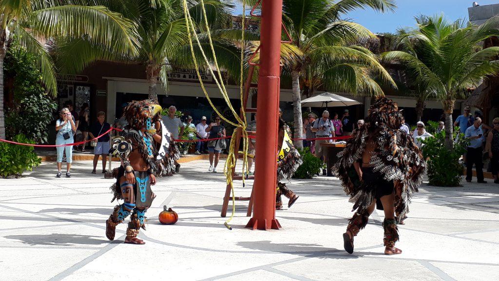 Die fliegenden Männer an der Costa Maya, Mexiko