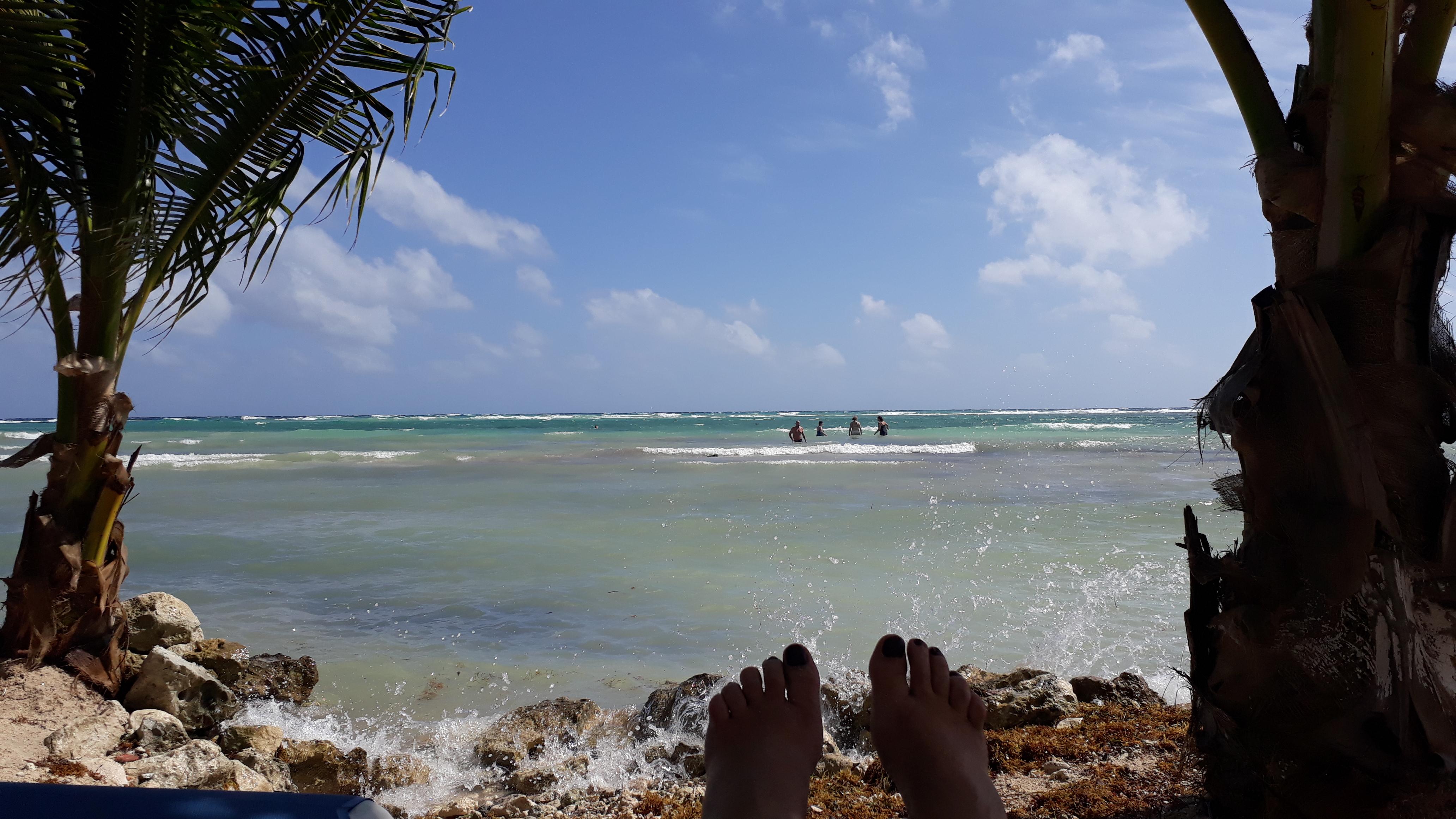 Mahahual Beach, Costa Maya, Mexiko,