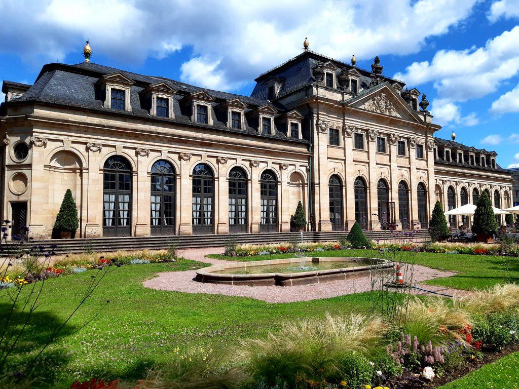Orangerie im Schlossgarten von Fulda Sehenswürdigkeiten