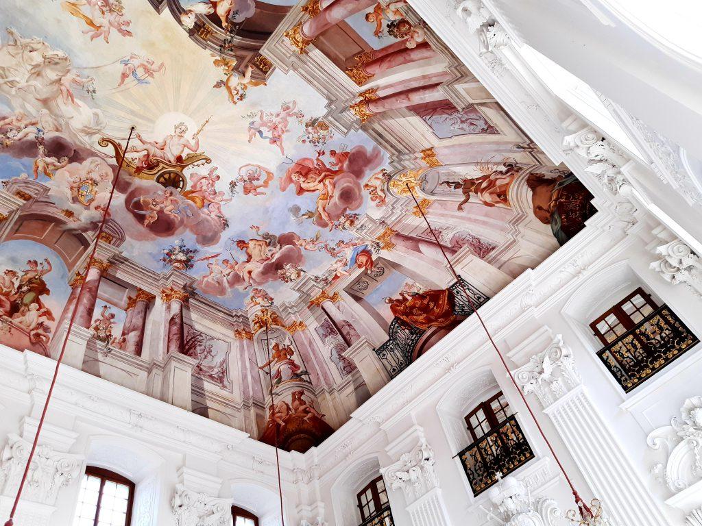 Deckengemälde in der Orangerie in Fulda, Sehenswürdigkeiten