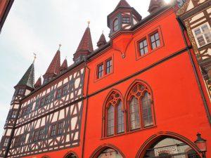 Fachwerkhäuser in der Altstadt von Fulda