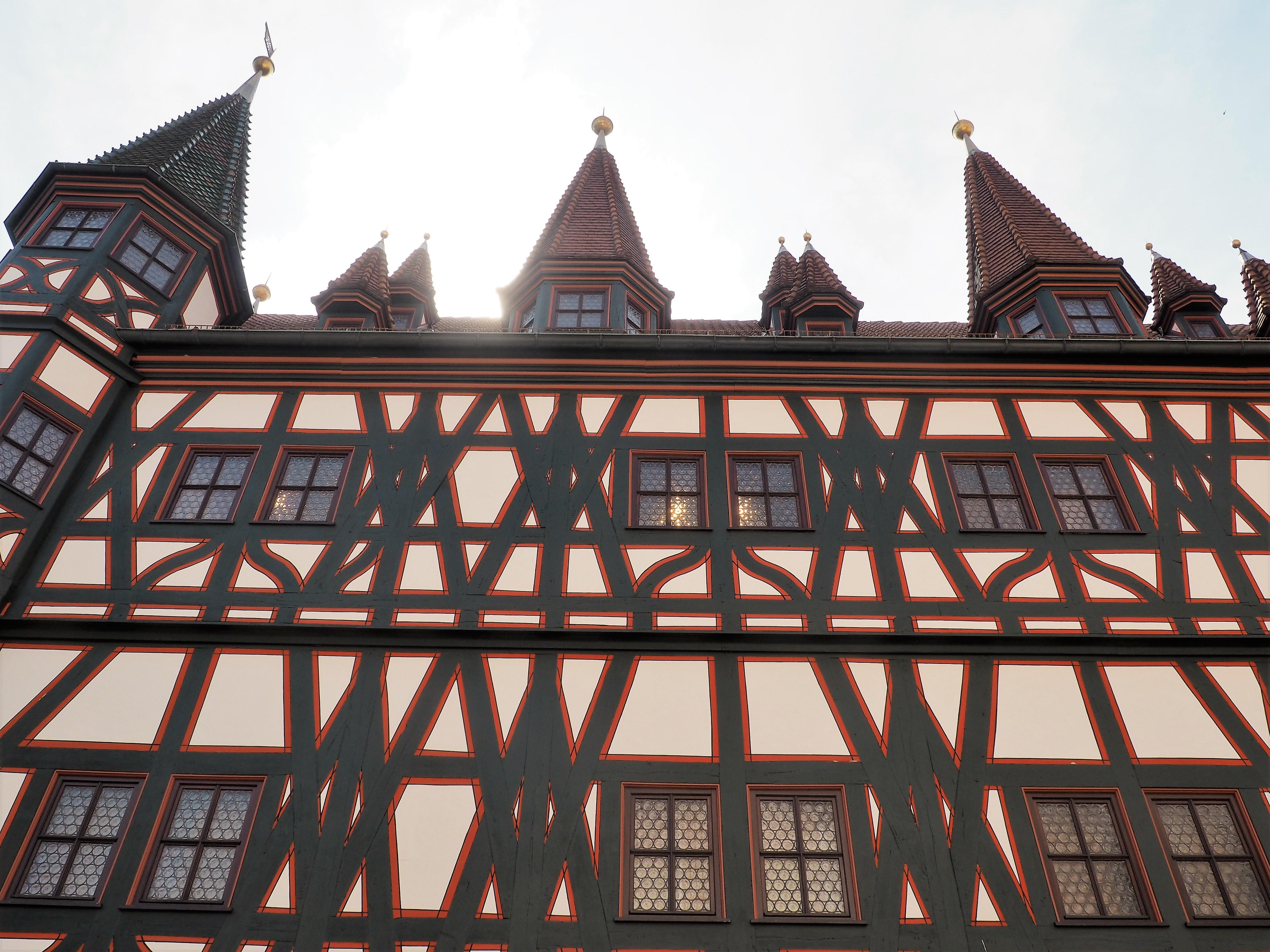Schöne Fassaden in der Altstadt von Fulda