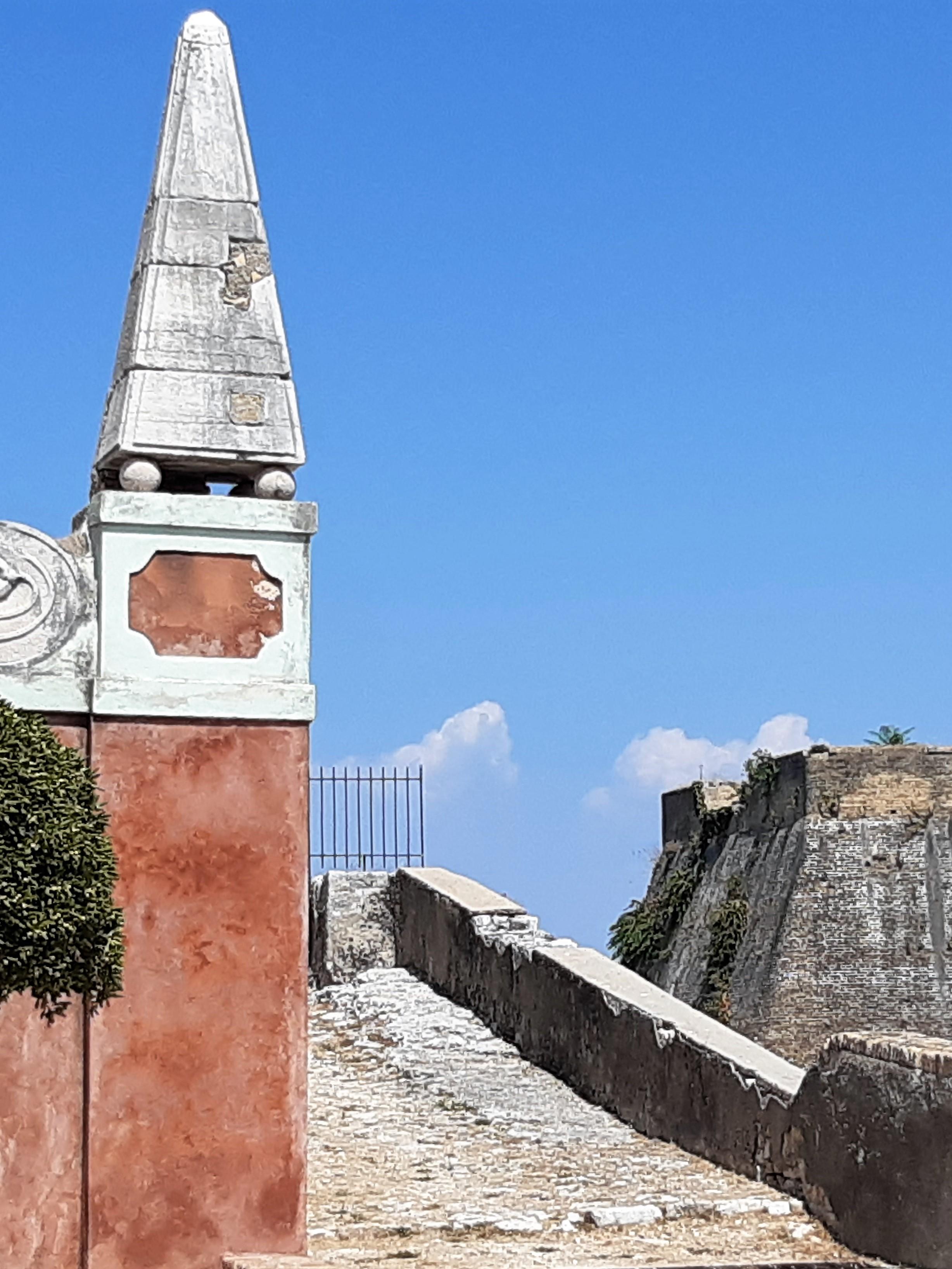 Eingang zur alten Festung auf Korfu, Kreuzfahrtblog