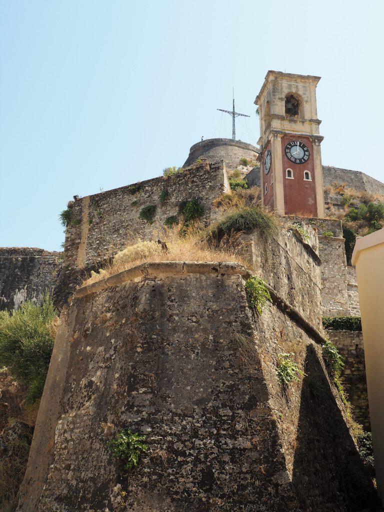 Uhrenturm in der Alten Festung auf Korfu