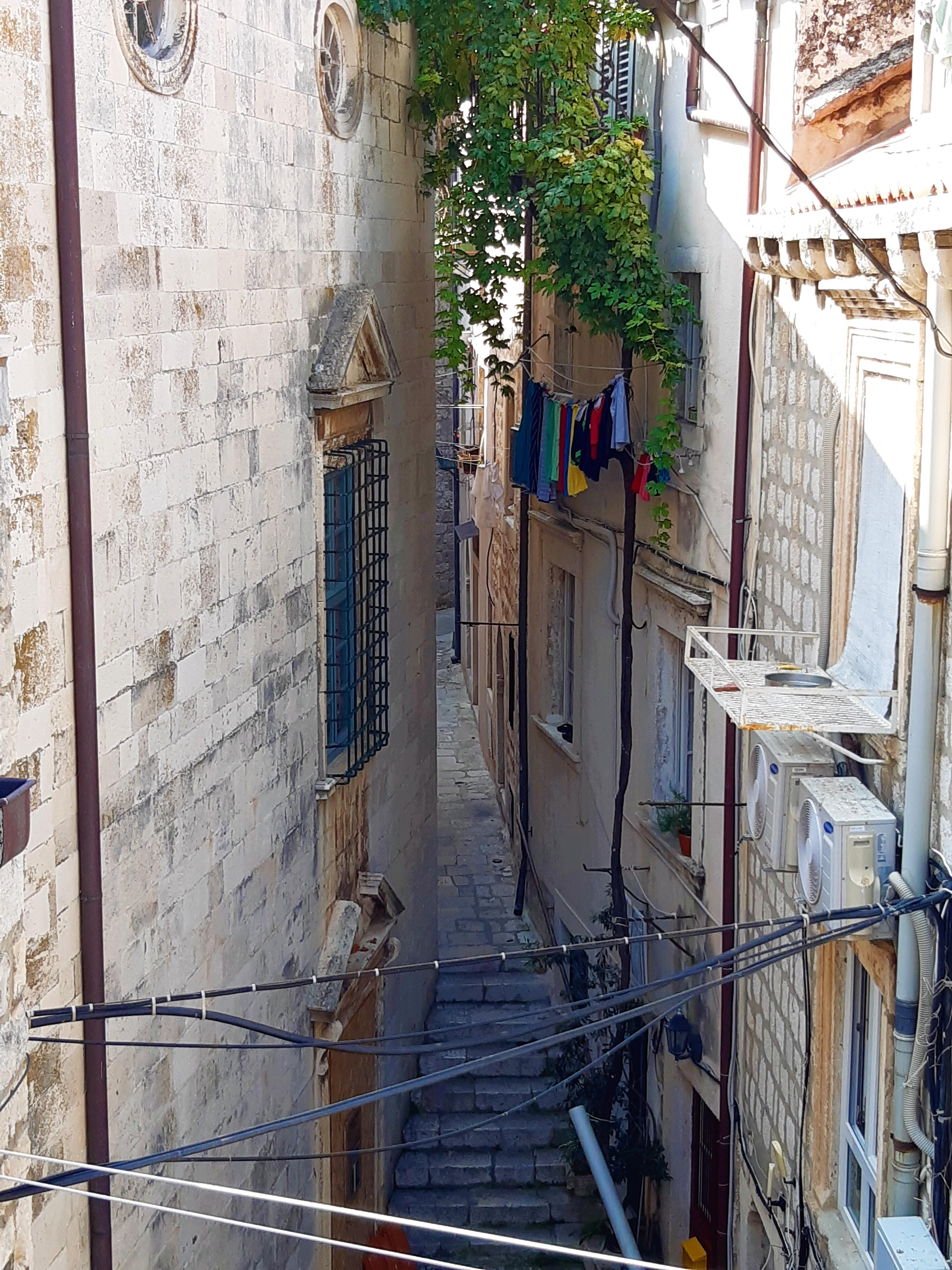 Altstadtgassen in Dubrovnik,