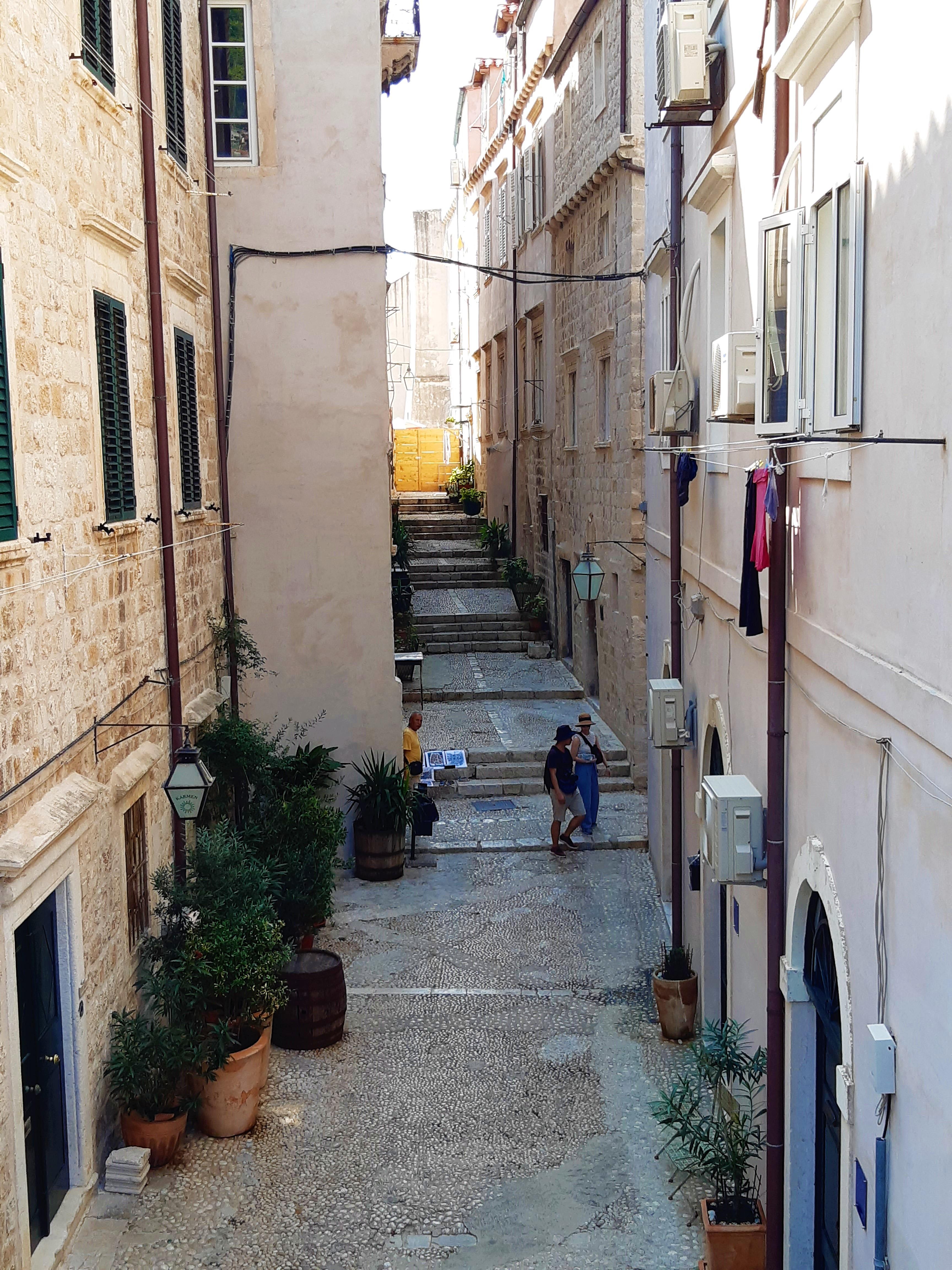Altstadtgassen in Dubrovnik