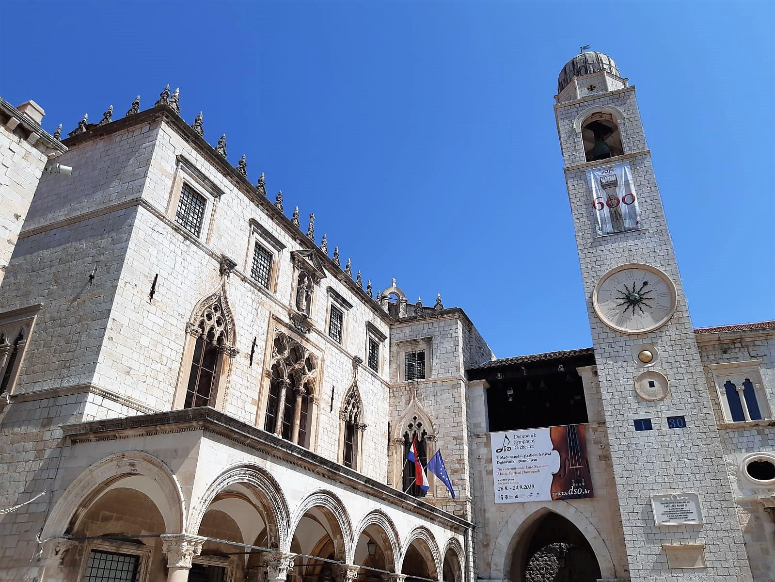 Rektorenpalast in der Altstadt von Dubrovnik