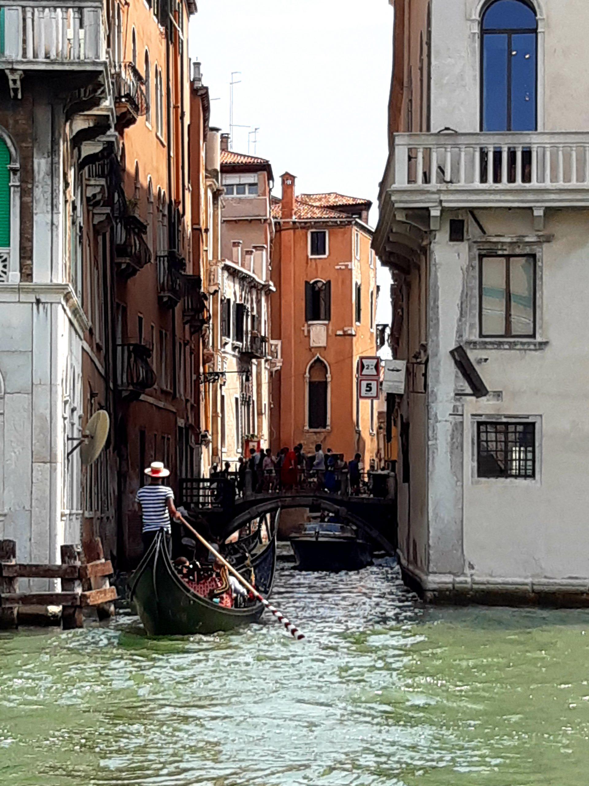 Gondel in den Kanälen von Venedig, Reiseblog